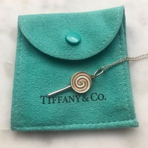 Tiffany and Co. Lollipop Charm Necklace